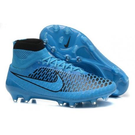 reputable site e4820 c0004 Scarpe Da Calcio Nike - Scarpe Nike Magista Obra Fg - Terreni Compatti - Blu  Nero