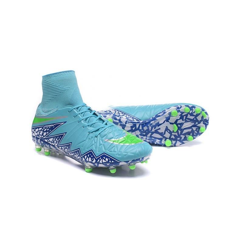 online retailer 0f8b1 02361 Uomo Nike HyperVenom Phantom II ACC FG scarpe da calcio Blu Bianco Nero  Vedi a schermo intero. Precedente. Successivo