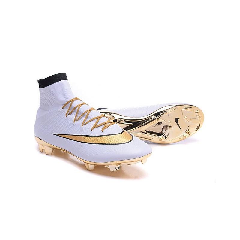 Fg Uomo Oro Bianco Superfly Scarpe Mercurial Nike Nero Da Calcio 8nwOPk0