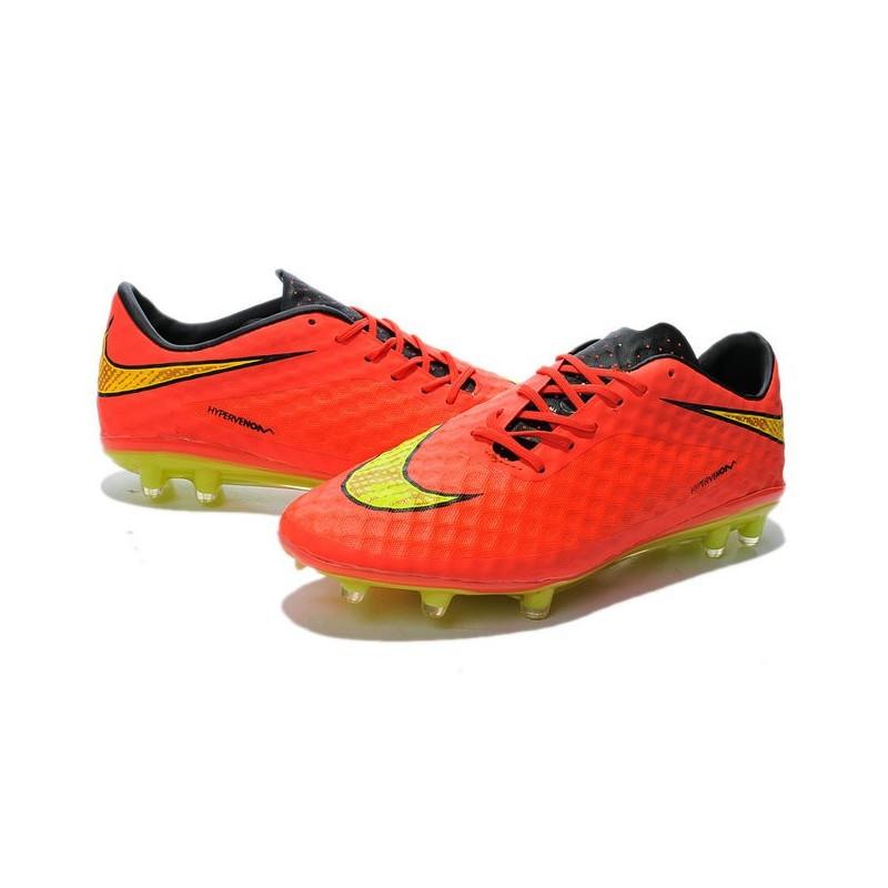 Mens Calcio Giallo Phantom Scarpe Fg Hypervenom Nero Nike Da Arancione SVzpqMLGU