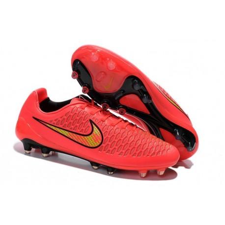 Nuova Scarpa Da Calcio Nike Magista Opus FG Rosa Giallo Nero