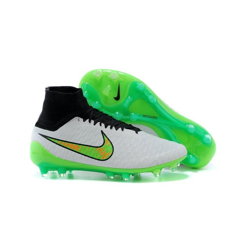 127495566 Scarpe Da Calcio Nike - Scarpe Nike Magista Obra Fg - Terreni Compatti -  Nero Bianco Verde
