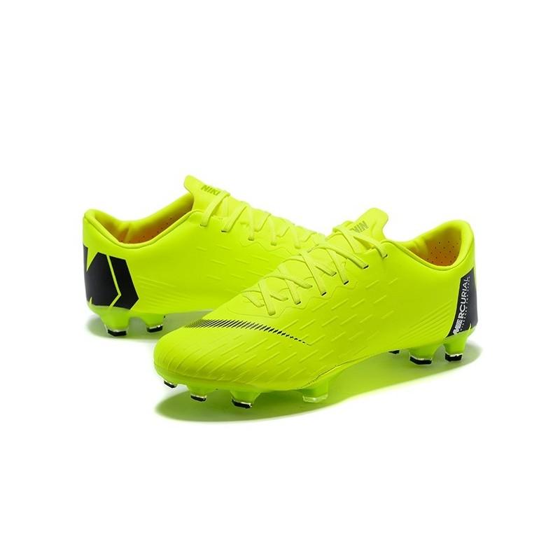3e01e6ee3 Calcio Mercurial Uomo Scarpe Nike Pro Nero Verde Vapor Fg Xii Da 8q85rxt