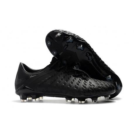 Scarpe da Calcio Nike Hypervenom Phantom III FG - Argento Nero