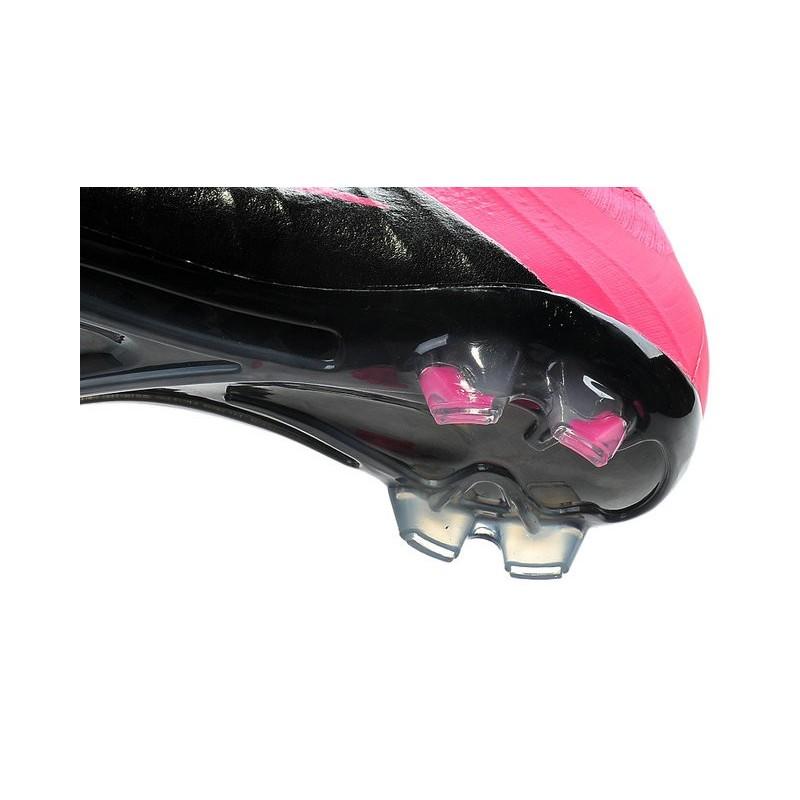 Scarpe Da Calcio Nike Mercurial Superfly Fg Uomo Pelle Hyper Rosa Nero 3bedb4f3863