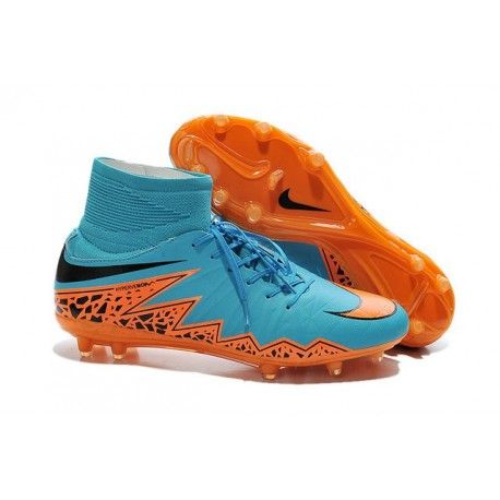 Uomo Nike HyperVenom Phantom II ACC FG scarpe da calcio Blu