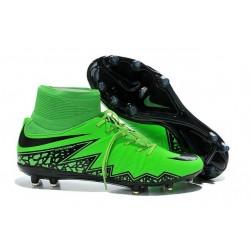 Nuovo Tacchetti Nike HyperVenom Phantom 2 FG Verde Nero