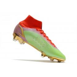 Nike Tiempo Legend VIII Elite FG ACC - Arancione Nero