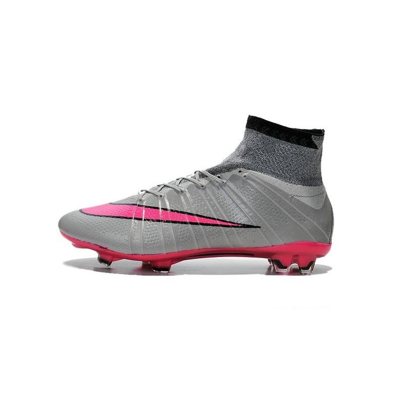 068575c7e3213 2015 Scarpini Calcio Nike Mercurial Superfly FG Hyper Rosa Gris