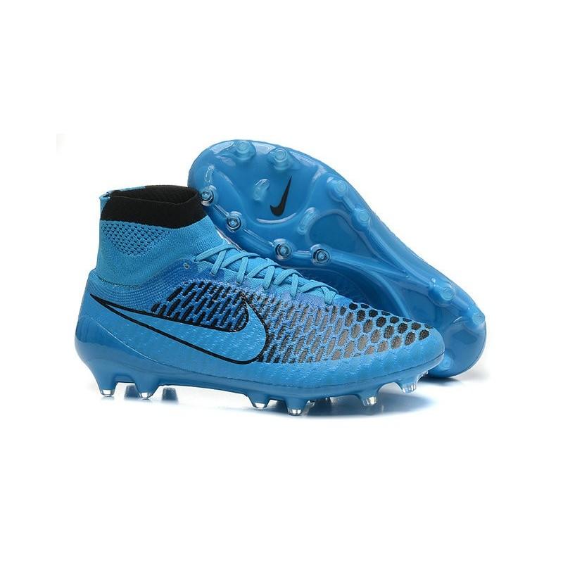 5392096729f5f Scarpe Da Calcio Nike - Scarpe Nike Magista Obra Fg - Terreni Compatti -  Blu Nero