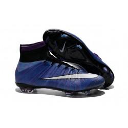 Scarpe calcio Nuove Nike Mercurial Superfly FG Viola Nero Bianco Multicolore