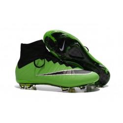 Scarpe Da Calcio Nike Mercurial Superfly Fg Uomo Verde Nero