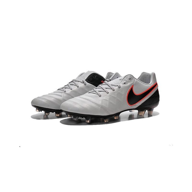 Vi Scarpe Nike Arancione Bianco Tiempo Legend Calcio Fg Nero by76Yfgv