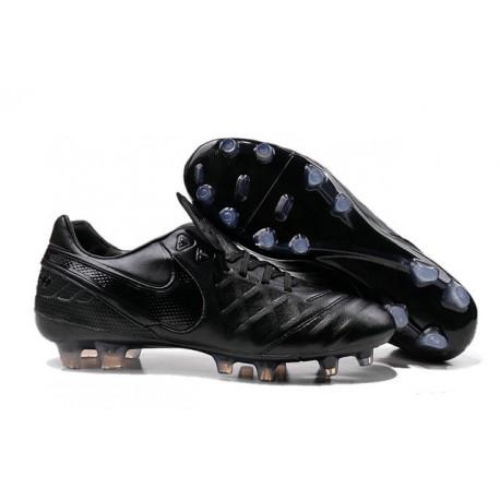 Scarpe Calcio Nike Tiempo Legend VI FG tutto Nero