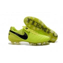 Scarpe Calcio Nike Tiempo Legend VI FG Volt Nero