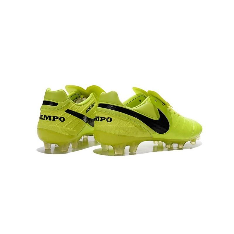 huge discount 1b308 4434d Scarpe Calcio Nike Tiempo Legend VI FG Volt Nero