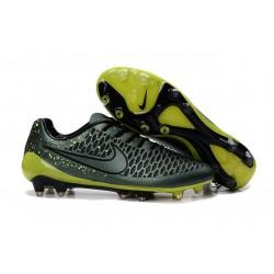 Scarpe Calcio Nike Uomo Magista Opus FG Agrume Scuro Volt Nero