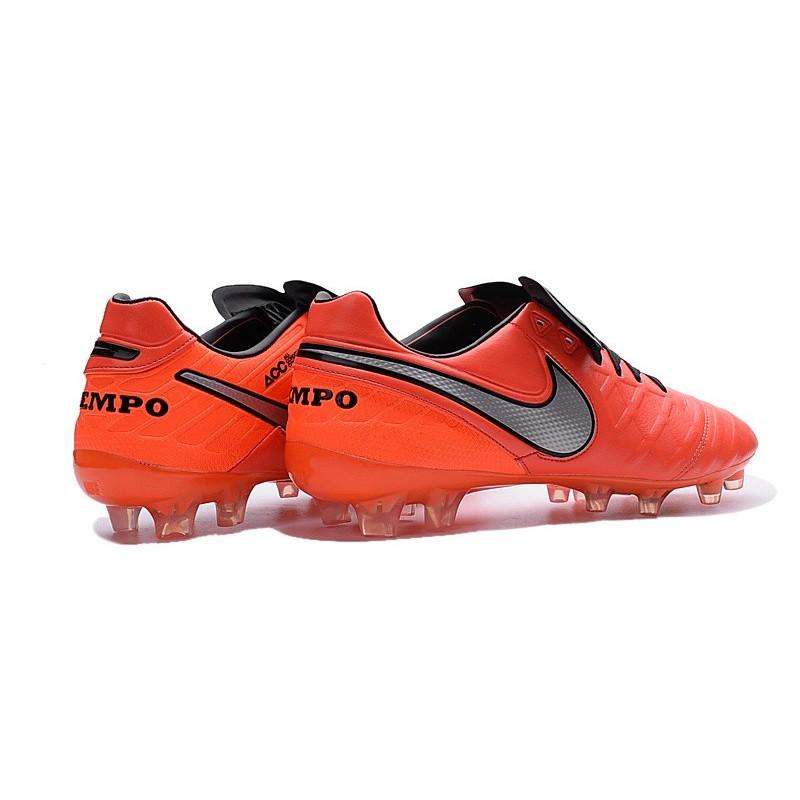 Nike Tiempo Nere E Arancioni