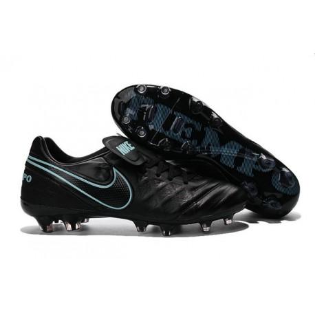 Scarpe Calcio Nike Tiempo Legend VI FG Nero Blu