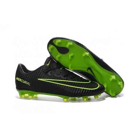 Scarpette da Calcio Nike Mercurial Vapor XI FG - Uomo Nero Verde
