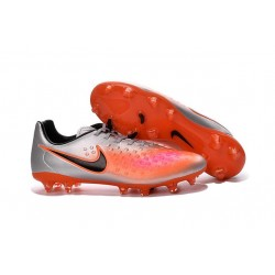 Scarpe Da Calcio 2016 Nike Magista Opus II FG Argento Arancione Nero