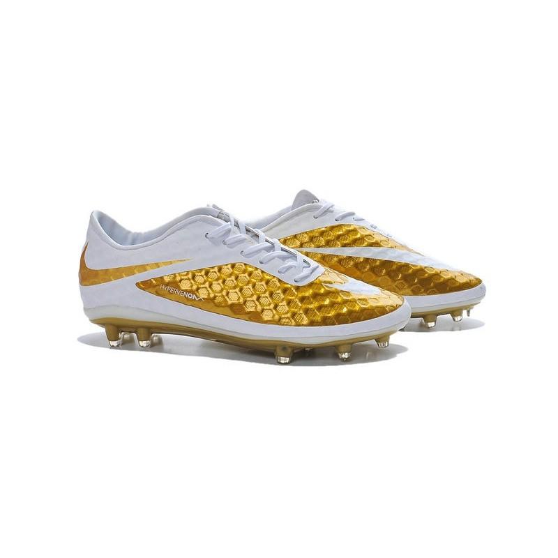 Fg Uomo Bianco Sportive Oro Nike Phantom Hypervenom Scarpe qSpUMzV