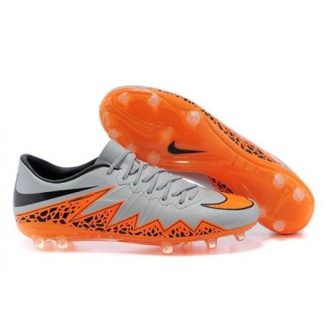 Scarpe da calcio Nike Hypervenom Phantom Fg Cromo Arancione