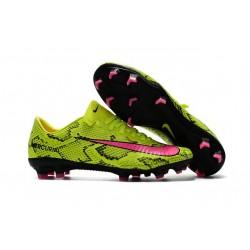Nuove Scarpini Calcio Nike Mercurial Vapor XI FG - Uomo Giallo Rosa