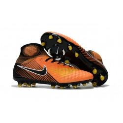 Nuove Scarpe da Calcio Nike Magista Obra 2 FG Arancio Nero
