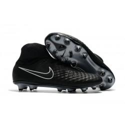 Nuove Scarpe da Calcio Nike Magista Obra 2 FG Nero Metallico