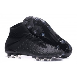 Nike Hypervenom Phantom III Dynamic Fit FG ACC Scarpa Calcio Tutto Nero