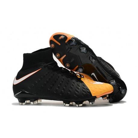 Nike Hypervenom Phantom III Dynamic Fit FG ACC Scarpa Calcio Arancione Laser Bianco Volt
