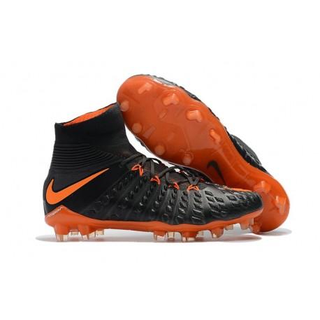 Nike Hypervenom Phantom III Dynamic Fit FG ACC Scarpa Calcio Arancione Nero