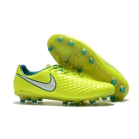 Nuova Scarpa Da Calcio Nike Magista Opus II FG Volt Bianco
