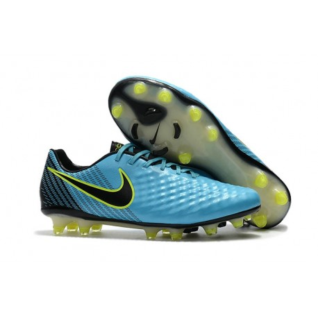 Scarpe Da Uomo Nike Nike Magista Opus II FG Blu Volt Nero