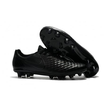 Scarpe Calcio Nike Uomo Magista Opus II FG Tutto Nero