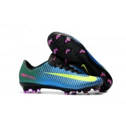 Nike Mercurial Vapor 11 FG - Scarpe da Calcio 2017 - Blu Volt Rosa