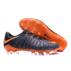 Scarpe da Calcio Nike Hypervenom Phantom III FG - Nero Arancione