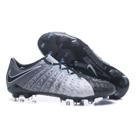 Scarpe da Calcio Nike Hypervenom Phantom 3 FG - Nero Grigio