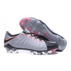 Scarpe da Calcio Nike Hypervenom Phantom III FG - Nero Grigio Rosa