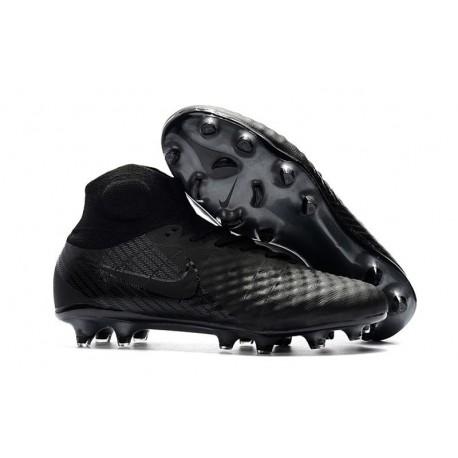 Nuove Scarpe da Calcio Nike Magista Obra 2 FG Tutto Nero