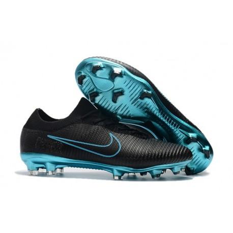 new style bf2bc c7cad Nuovo Scarpe da calcio - Nike Mercurial Vapor Flyknit Ultra FG Blu Nero