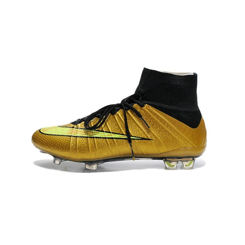 Calcio Fg 2015 Superfly Oro Nero Scarpini Mercurial Nike Volt T5qnxS7w