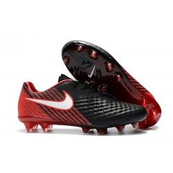 Nuova Scarpa Da Calcio Nike Magista Opus II FG Nero Rosso Bianco