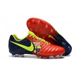 Nuovo Scarpa da Calcio Nike Nuovo Tiempo Legend 7 FG - Rosso Blu Volt