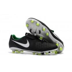 Scarpe Calcio Nike Uomo Magista Opus II FG Nero Bianco Verde