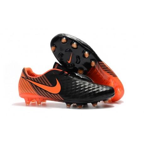 Nuova Scarpa Da Calcio Nike Magista Opus II FG Nero Bianco Rosso University