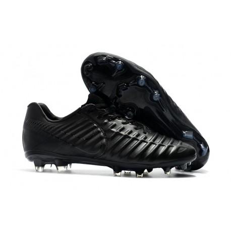 Nuovo Scarpa da Calcio Nike Nuovo Tiempo Legend 7 FG - Tutto Nero