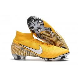Scarpe Da Calcio Nike Mercurial Superfly VI 360 Elite FG - Uomo Amarillo White Dynamic Yell
