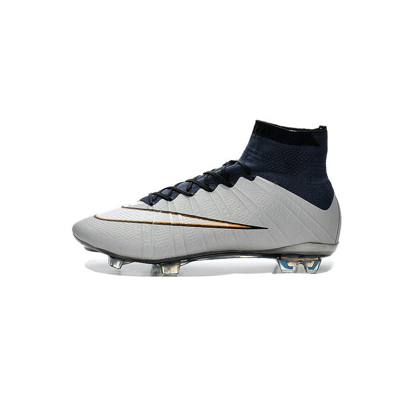 Scarpe calcio Nuove Nike Mercurial Superfly FG Bianco Rosa Nero e495c4e64fb